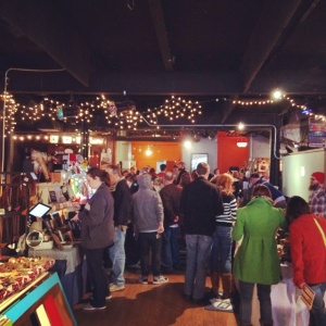 Crafty Mart filled three Downtown Akron venues in November 2014 including Musica Performing Arts